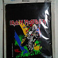 Vintage ©1990 Brockum Official Licensed IRON MAIDEN Canvas Wallet