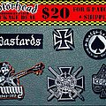Motörhead Embroidery Patches Set