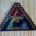 Sarcofagus - Patch - Sarcofagus Pyramid Cut-out Woven Patch