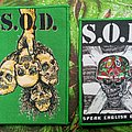 S.O.D. Woven Patches