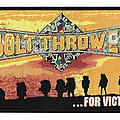 BOLT THROWER For Victory Woven Patch