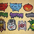 Powertrip - Patch - Small embroidery patches