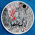 Watain - Patch - Watain Round Woven Patch White Border