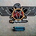 Slayer - Patch - Slayer Eagle Embroidery Backshape