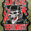 SLAYER 'Slaytanic Wehrmacht' Big Embroidery Backpatch