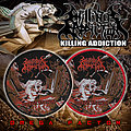 Killing Addiction - Patch - Killing Addiction Round Woven Patch