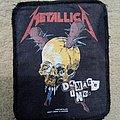 Metallica - Patch - Metallica Screen Printed Patch