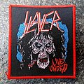 Slayer Live Undead Woven Patch