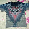 Slayer tie dye shirt