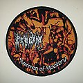 Pyrexia 'Sermont of Monkery' Round Woven Patch