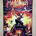 Manowar - Patch - Manowar The Triump of Steel Woven Backpatch