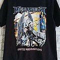 Megadeth 'United Abomination's T Shirt