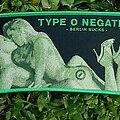 Type O Negative - Patch - Type O Negative Berlin Sucks Green Border Woven Patch