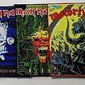 Iron Maiden - Patch - Iron Maiden & Motorhead Woven Backpatch