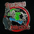 D.R.I. Metal Pin Badge