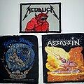 Metallica - Patch - Metallica, ST, Assassin Patches