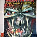 Official IRON MAIDEN - The Final Frontier Fabric Poster Other Collectable