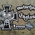 Motörhead - Patch - Motörhead Embroidery Backpatch Set