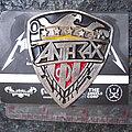Anthrax - Pin / Badge - ANTHRAX Metal Pin Badge