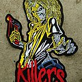 IRON MAIDEN Killers Embroidery Backpatch