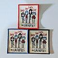 Ramones - Patch - Hey Go Let's Go! The Ramones Woven Patch