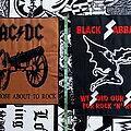 AC/DC - Patch - AC/DC & Black Sabbath Embroidery Backpatch