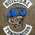 Suicidal Tendencies Embroidery Backpatch Set