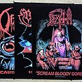 Obituary - Patch - Obituary, Sepultura, Death Screen Printing Backpatches
