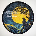 Ulver  'Nattens Madrigal: Round Woven Patch
