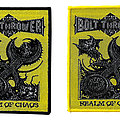 Bolt Thrower Realm of Chaos Woven Patch