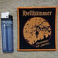 Hellhammer - Patch - Hellhammer Woven Patch Orange Border