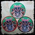 MONSTROSITY Round Woven Patch