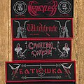 Merciless - Patch - Stripe Woven Patches SET (5 stripe in 1 package)