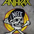 Anthrax - Patch - ANTHRAX Big Embroidery BackPatch