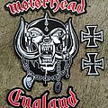 Set of Motörhead England Embroidery Back Patch
