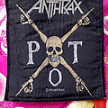 Anthrax - Patch - Anthrax P.O.T. Official Woven Patch ©1991