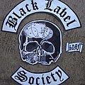 Black Label Society - Patch - Black Label Society Embroidery Backpatch Set
