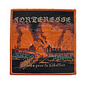 Forteresse - Patch - FORTERESSE Woven Patch Orange Border