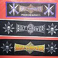 Bolt Thrower - Patch - Bolt Thrower Superstripes Woven Patch