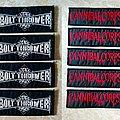 Bolt Thrower - Patch - Bolt Thrower & Cannibal Corpse Logo Woven Patch