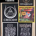 5 Woven Patches in 1 Package