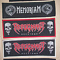 Cannibal Corpse, Memoriam, Repugnant Superstripes Woven Patch