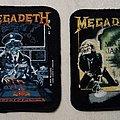 Megadeth - Patch - 2 Megadeth Ol'Skool Brockum Patches