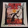 October 31 - Patch - October 31 - Gone to the Devil Printed Patch