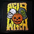 Acid Witch - Ghouls Logo Printed Patch