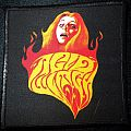 Acid Witch - Burning Witch Printed Patch