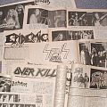 METAL MELTDOWN fanzines released from 1987 to 1992