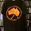 Carcass - Antipodean Evisceration 1994 Tour Heartwork Australian TShirt or Longsleeve