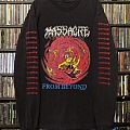 Massacre - From Beyond 1991 Original Earache  TShirt or Longsleeve