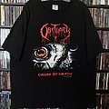 Obituary  - Cause Of Death by Blue Grape Merchandising 1994 TShirt or Longsleeve